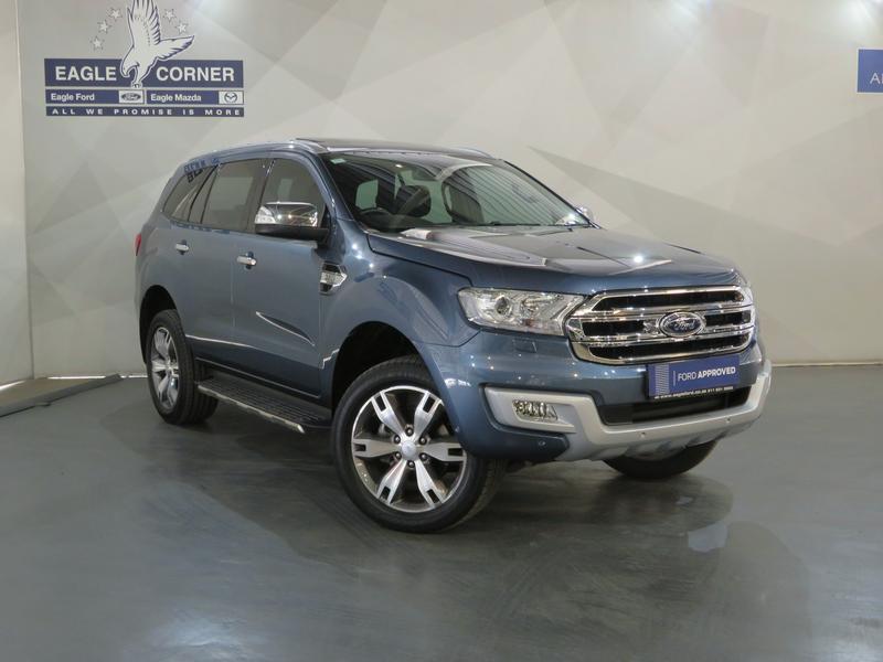 Ford Everest 3.2 Tdci Ltd 4X4 At