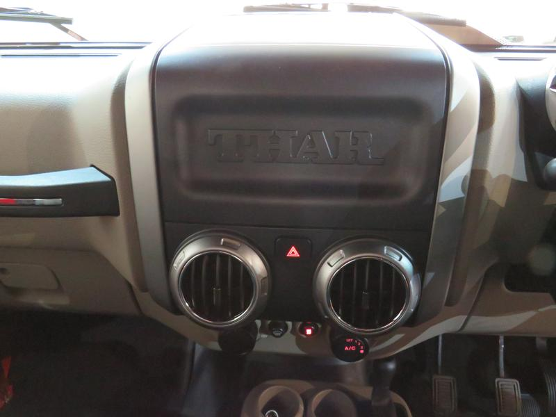 Mahindra Thar 2.5 Crde Soft Top 4X4 Image 10