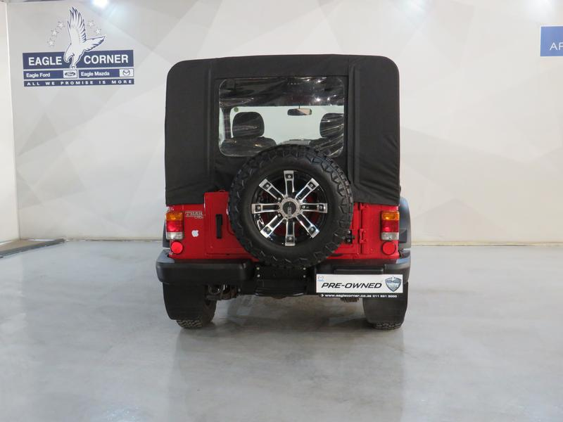 Mahindra Thar 2.5 Crde Soft Top 4X4 Image 18