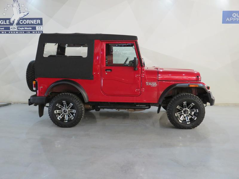 Mahindra Thar 2.5 Crde Soft Top 4X4 Image 2
