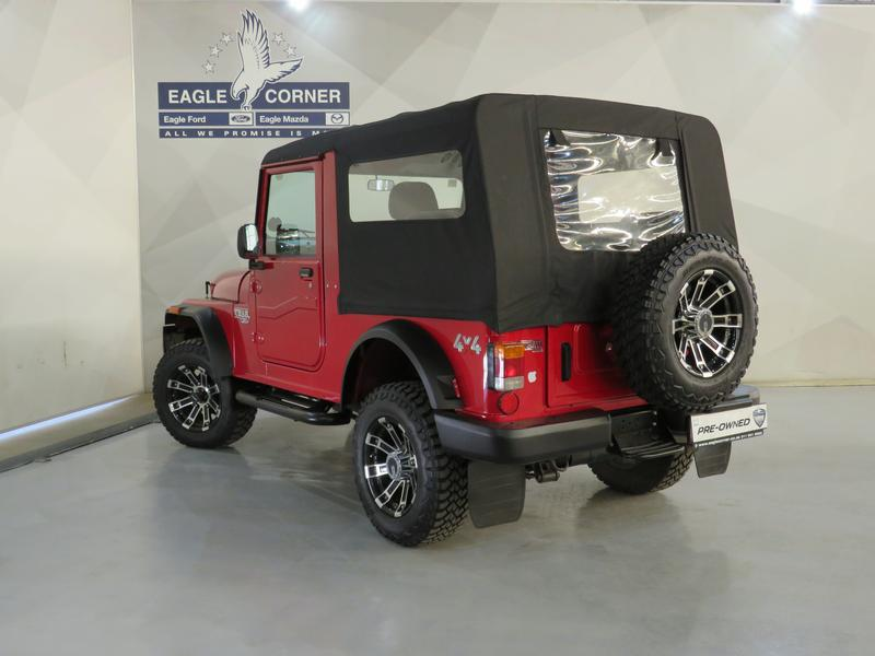 Mahindra Thar 2.5 Crde Soft Top 4X4 Image 20