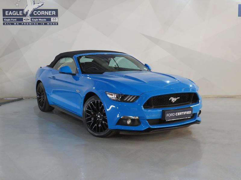 Ford Mustang 5.0 Gt Convertible At