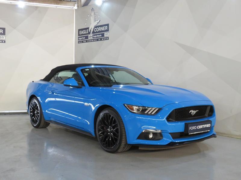 Ford Mustang 5.0 Gt Convertible At Image 3