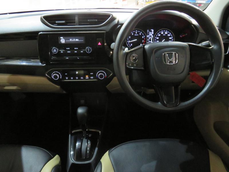 Honda Amaze 1.2 Comfort Cvt Image 13