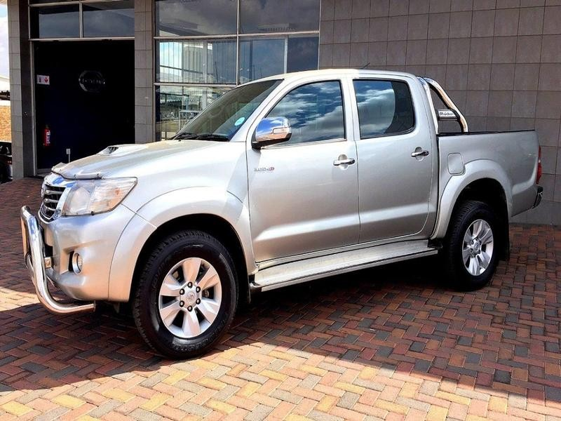 2013 Toyota Hilux 3.0 D-4D D/cab R/body Raider At