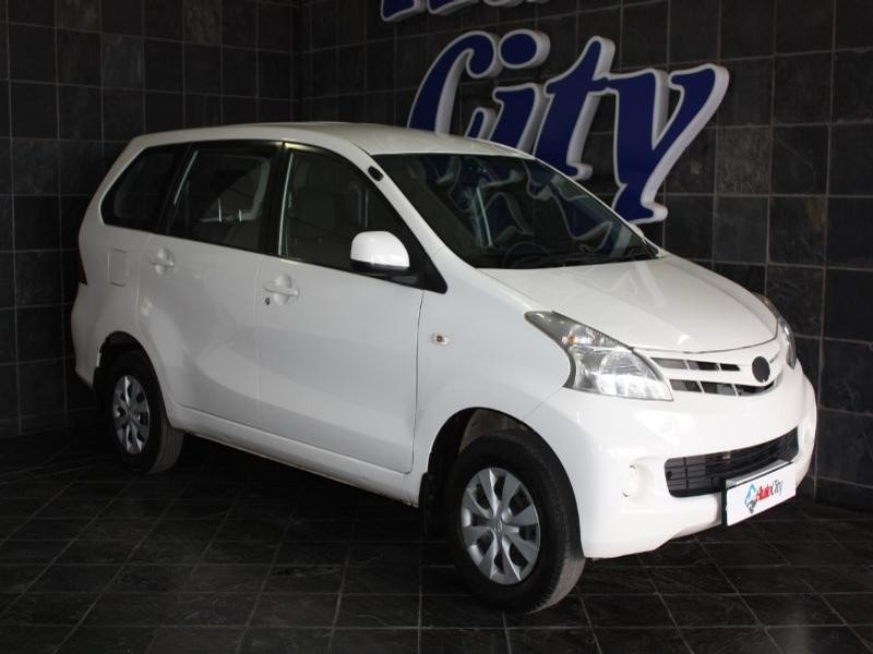 2014 Toyota Avanza 1.5 Sx At