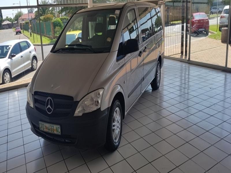 2012 Mercedes Benz Vito 116 Cdi Crew Bus