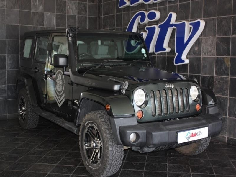 2010 Jeep Wrangler Unlimited 2.8L Crd Sahara At