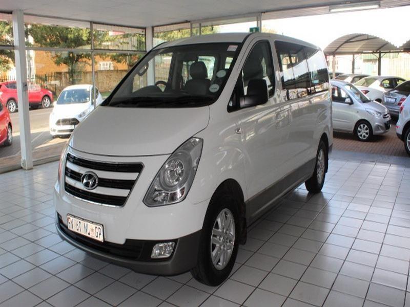 2017 Hyundai H1 2.4 Cvvt Gls 9-Seater Bus