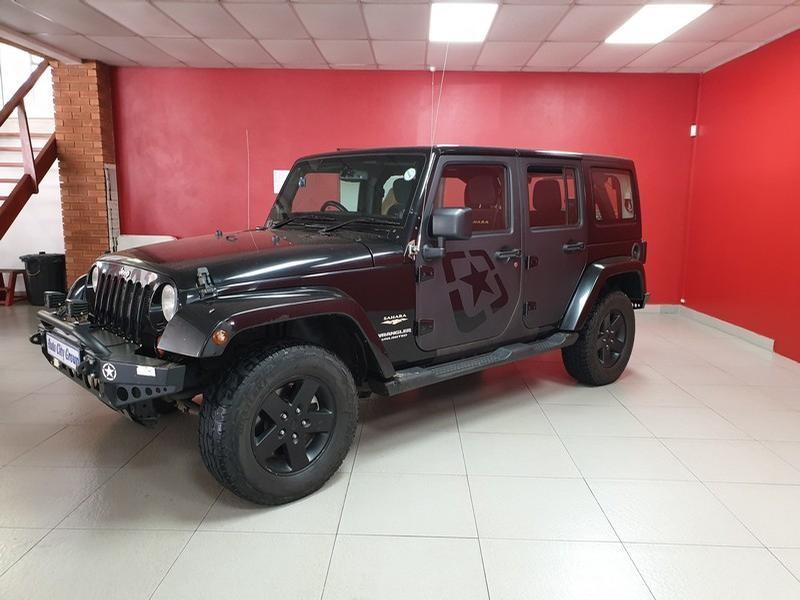 2013 Jeep Wrangler Unlimited 3.6 Sahara At