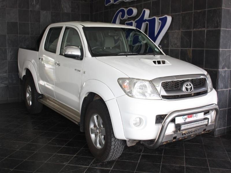 2011 Toyota Hilux 3.0 D-4D D/cab R/body Raider