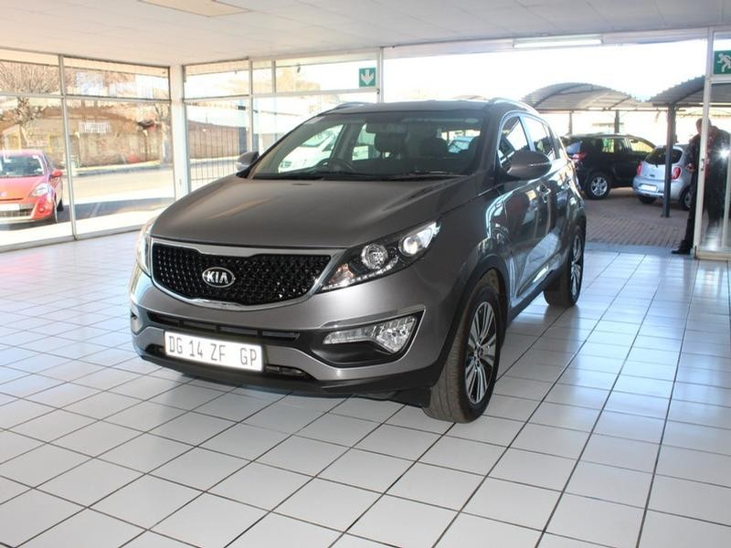 2014 Kia Sportage 2.0 Crdi 4X4 At