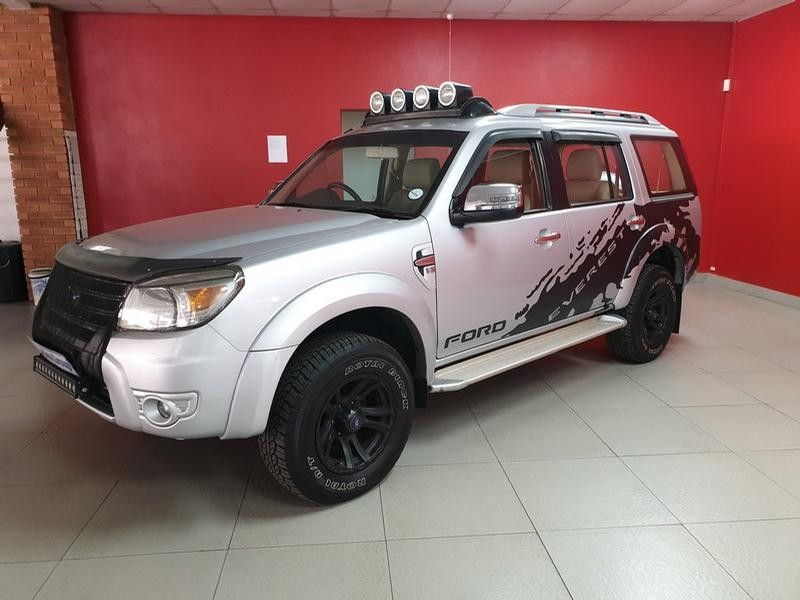 2013 Ford Everest 3.0 Tdci Xlt 4X2