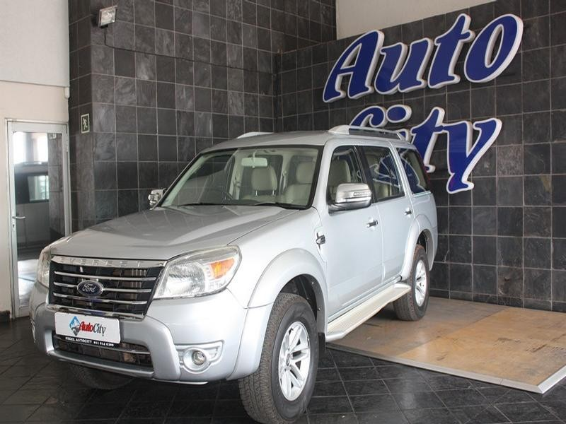 2010 Ford Everest 3.0 Tdci Ltd 4X4 At
