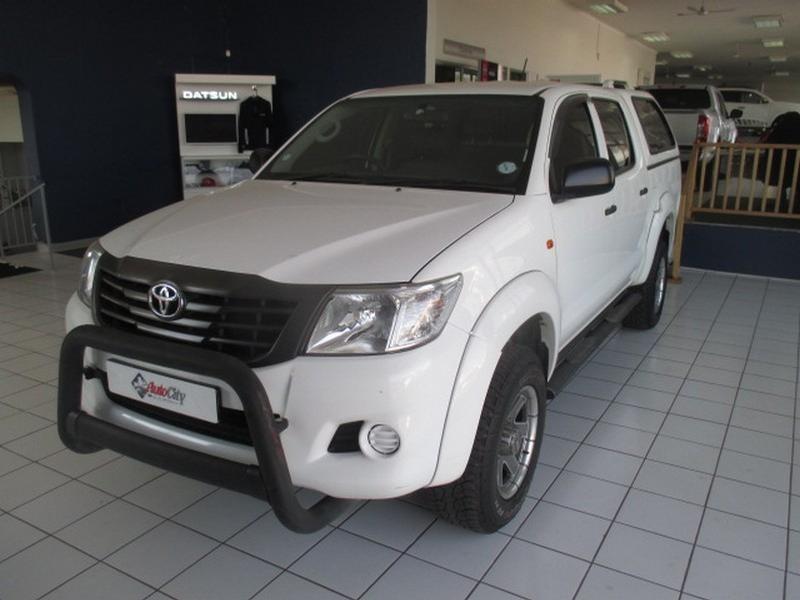 2013 Toyota Hilux 2.5 D-4D D/cab 4X4 Srx