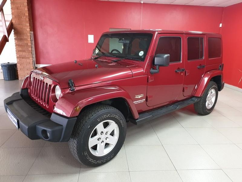 2012 Jeep Wrangler Unlimited 3.6 Sahara At
