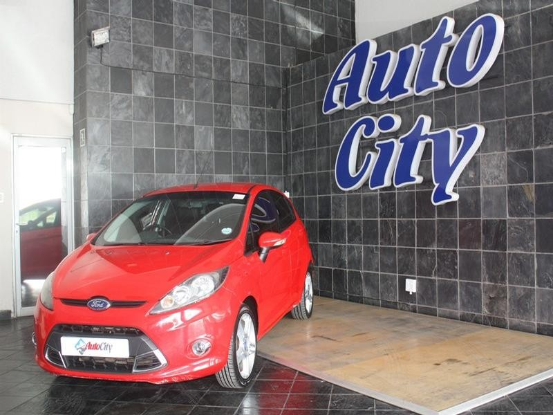2012 Ford Fiesta 1.6 Sport 5-Door