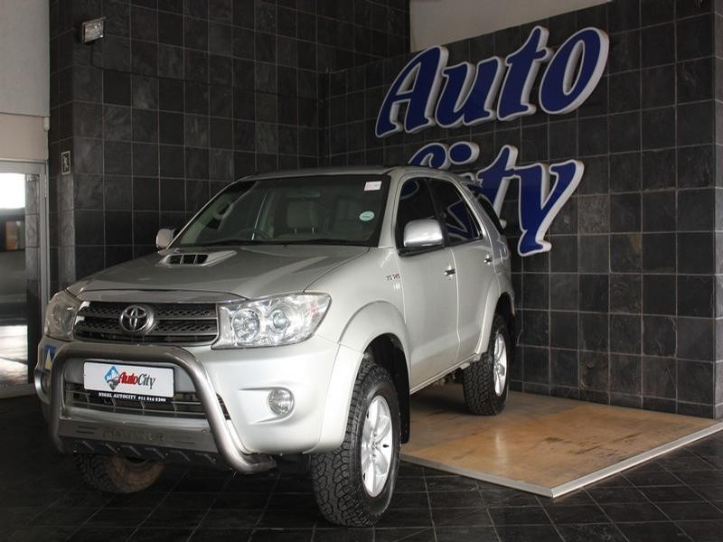 2010 Toyota Fortuner 3.0 D-4D 4X4