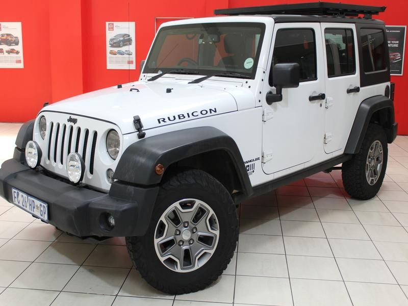 Jeep Wrangler Unlimited 3.6 Rubicon At