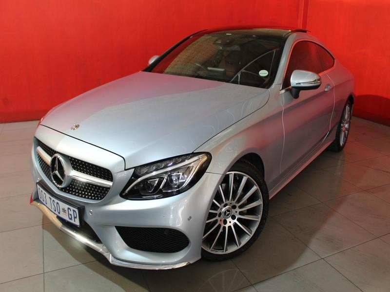 Mercedes-Benz C-Class Coupe C 200 Amg 7G-Tronic
