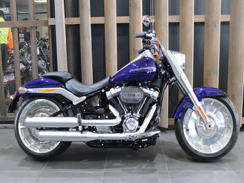 Harley Davidson FLSTF Softail Fat Boy FLSTF Solid Colour (17my)