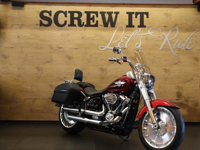 Harley Davidson FLSTF Softail Fat Boy FATBOY 114