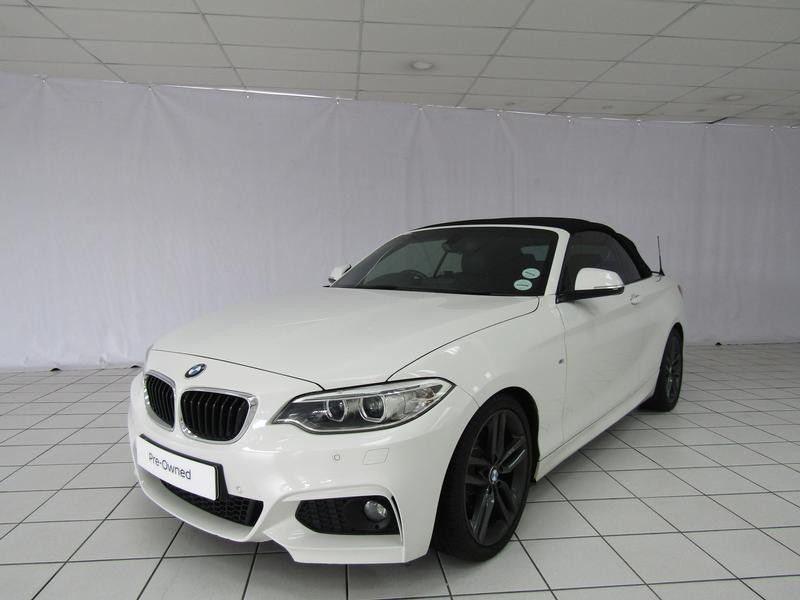 BMW 2 Series Convertible 220i M Sport