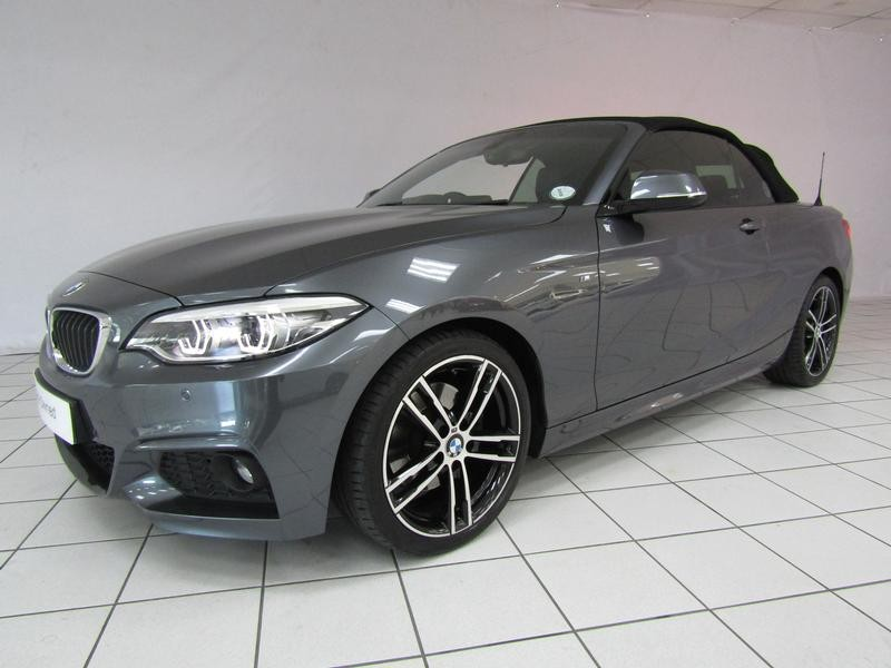BMW 2 Series Convertible Facelift 220i M Sport Steptronic
