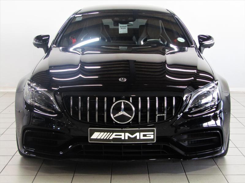 Mercedes-Benz C-Class Coupe Mercedes-Amg C 63 S Speedshift