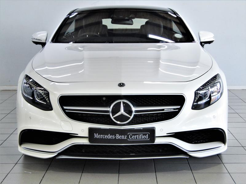 Mercedes-Benz S-Class Coupe Mercedes-Amg S 63 9G-Tronic