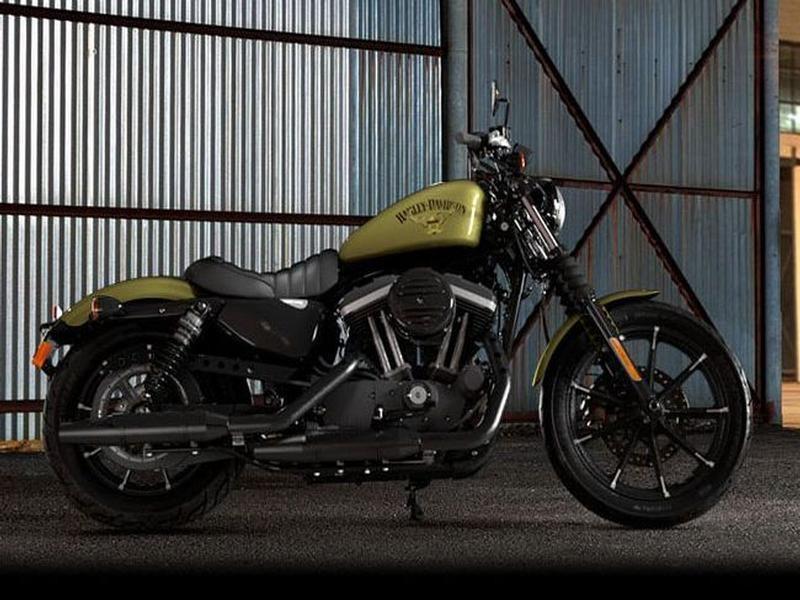Harley Davidson Sportster XL883N Iron 883
