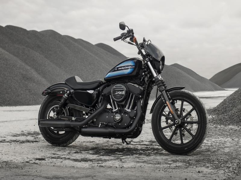 Harley Davidson XL1200NS Iron XL1200NS Iron Vivid Black (18my)