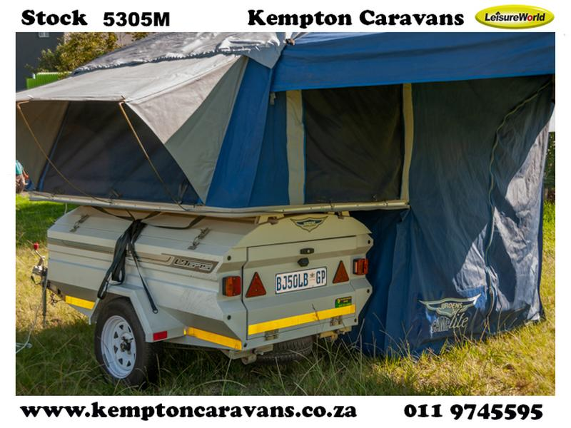 Trailer Jurgens Safari Camplite KC:5305M ID