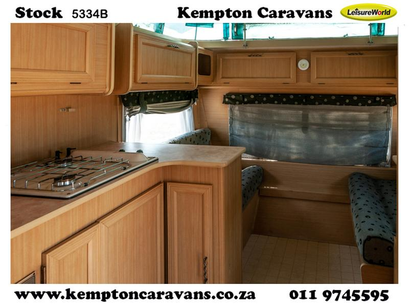 Caravan Gypsey Caravette 5 KC:5334B ID