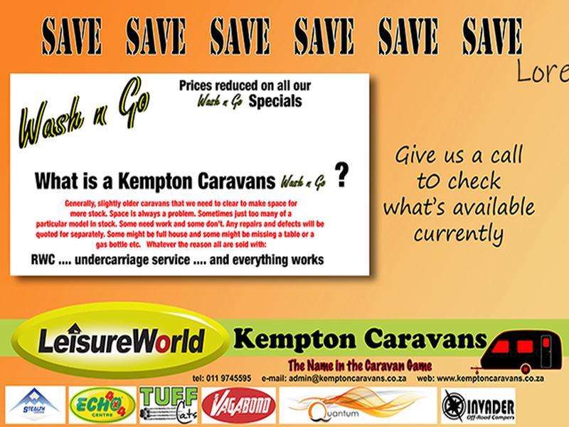 Caravan Sprite Scout KC:5332B ID