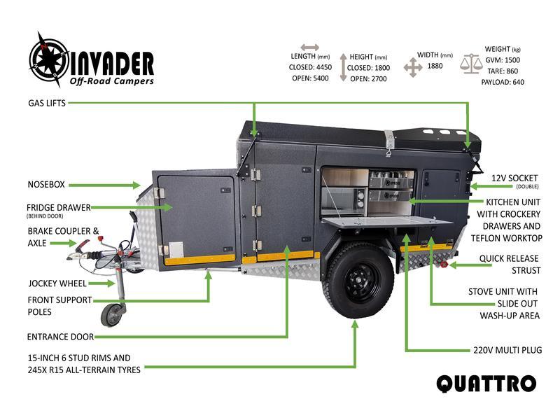Caravan Invader Quattro KC:N0166 ID