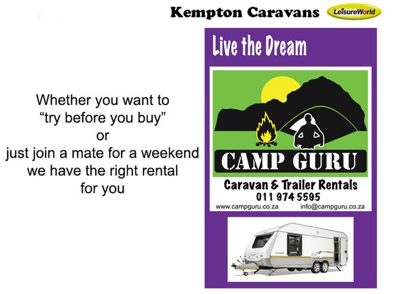 Caravan Sprite Scout Nomad KC:5361B ID