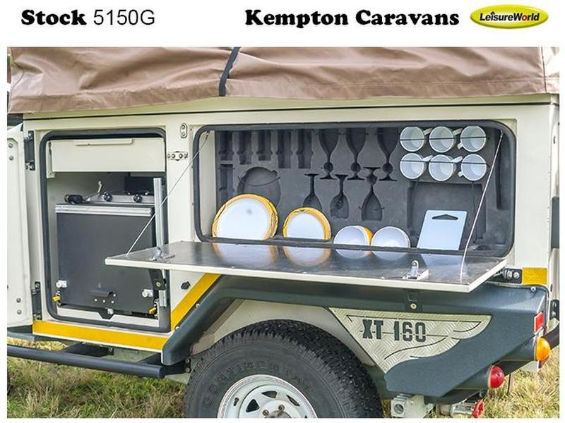 Trailer Jurgens Safari XT 160 KC:5150G ID