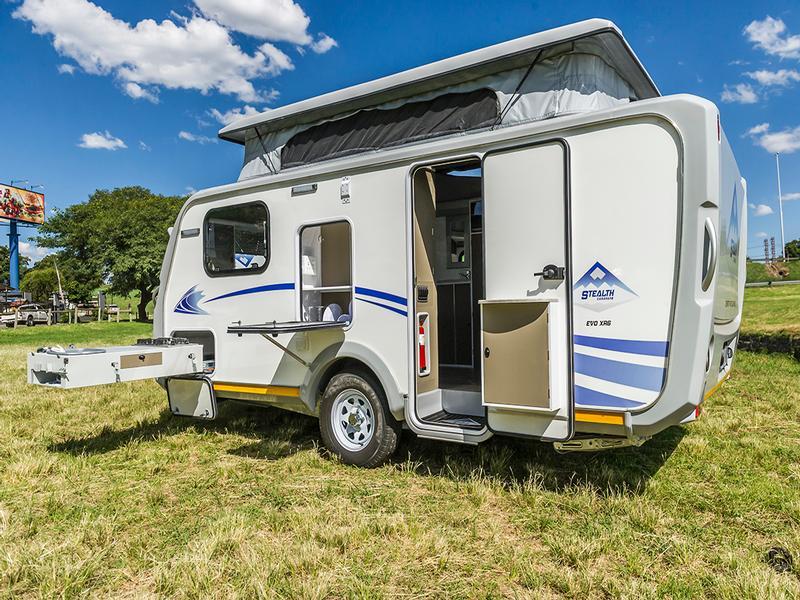 Caravan Stealth Evo XR6 594 KC:N0074 ID