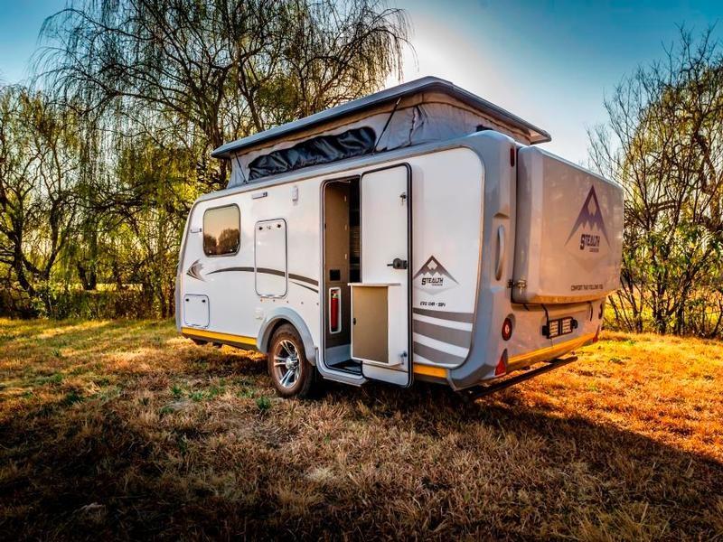 Caravan Stealth Evo XHR 594 KC:N0084 ID