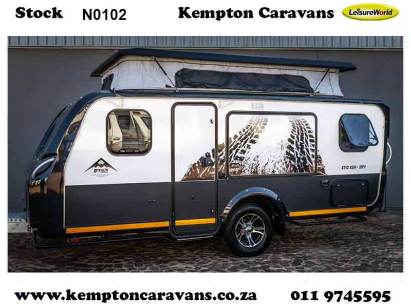 Caravan Stealth Evo XGR 594 KC:N0102 ID