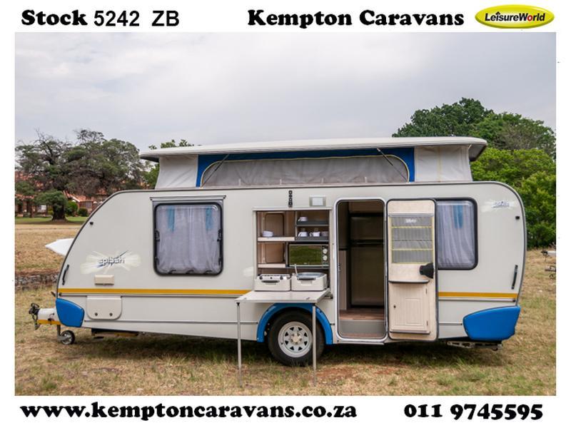 Caravan Sprite Splash KC:5242ZB ID